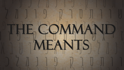 The Command Meants